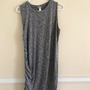 Ava & Viv short grey dress
